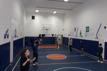 Voleybol Oynamaya Başladık